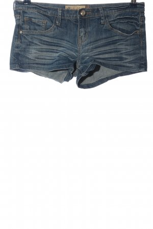Fishbone Jeansshorts blau Casual-Look