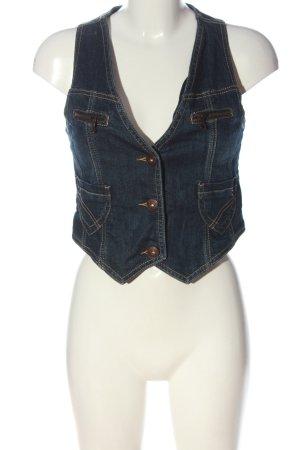 Fishbone Smanicato jeans blu stile casual
