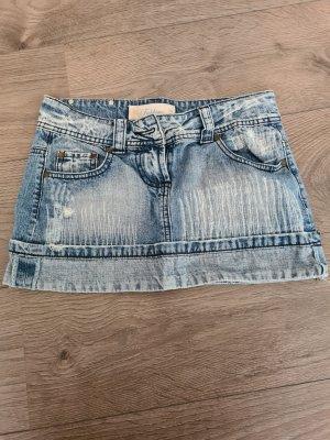 Fishbone Mini rok blauw