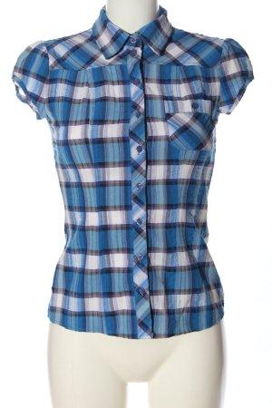 Fishbone Short Sleeve Shirt check pattern casual look