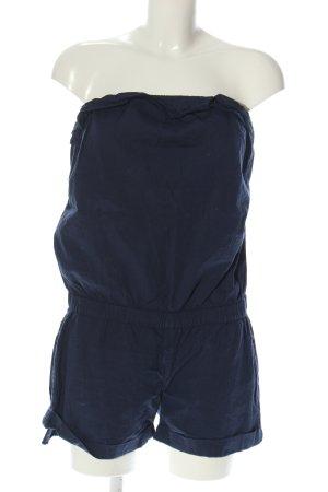 Fishbone Kurzer Jumpsuit blau Casual-Look