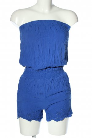 Fishbone Kurzer Jumpsuit blau Casual-Look