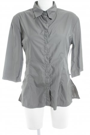 Fishbone Langarm-Bluse grau Casual-Look