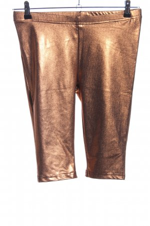 Fishbone Leggings bronzefarben extravaganter Stil