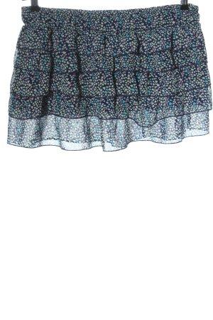 Fishbone Mini rok volledige print casual uitstraling