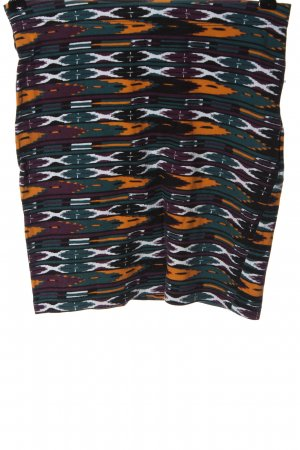 Fishbone Mini rok abstract patroon casual uitstraling