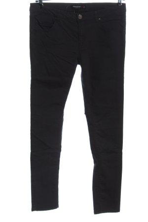 Fishbone Pantalone a sigaretta nero stile casual