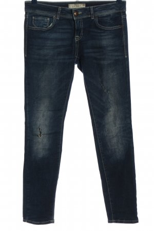 Fishbone Röhrenjeans blau Casual-Look
