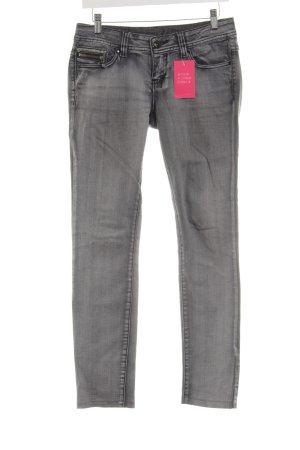 Fishbone Skinny Jeans hellgrau Casual-Look