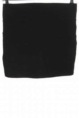 Fishbone Stretch Skirt black casual look