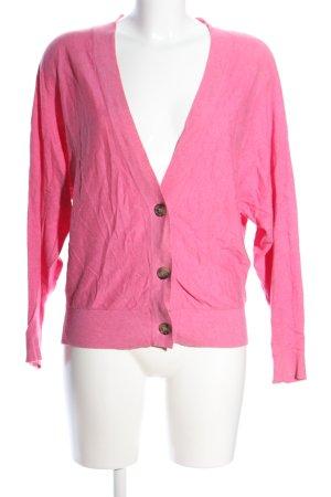 Fishbone Strickjacke pink Casual-Look