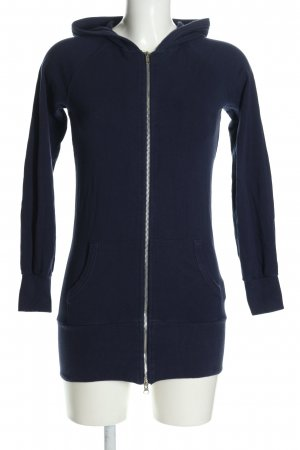 Fishbone Sweatjacke blau Casual-Look