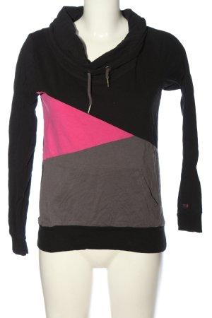 Fishbone Sweatshirt mehrfarbig Casual-Look