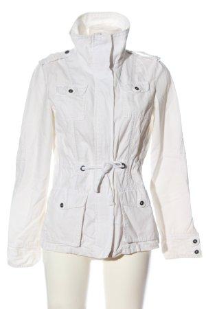 Fishbone Kurtka przejściowa biały W stylu casual