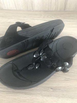 Fitflop Sandalias con talón descubierto negro