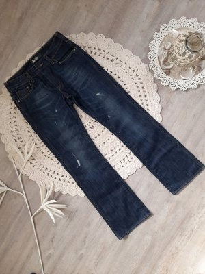 unbekannte Straight Leg Jeans blue-dark blue