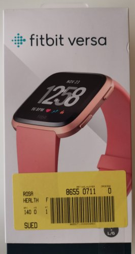fitbit Orologio digitale color oro rosa