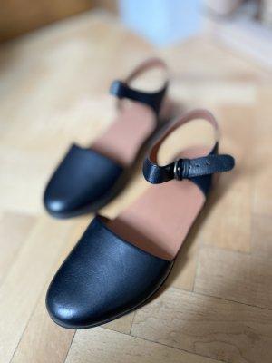 Fitflop Comfort Sandals black-cognac-coloured leather