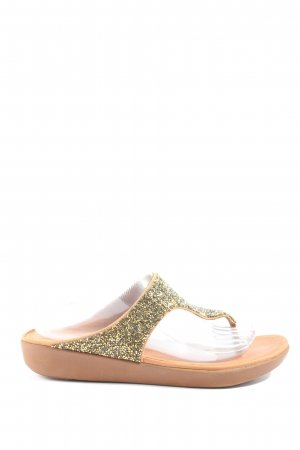 Fitflop Sandalias Dianette color oro brillante