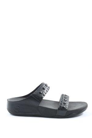 Fitflop Komfort-Sandalen schwarz Casual-Look