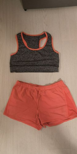 Fitness gym set, Shorts Bustier