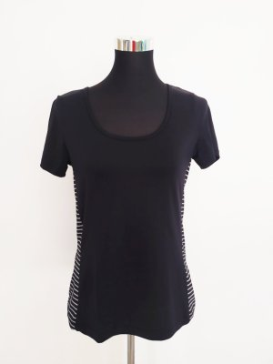 Crivit Camisa deportiva blanco-negro