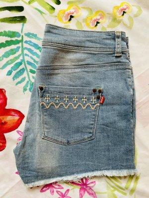 FitZ Pantaloncino di jeans azzurro
