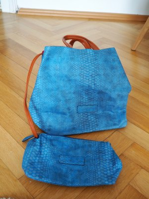 Fritzi aus preußen Handbag cornflower blue