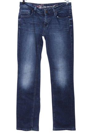 five Five-Pocket-Hose blau Casual-Look