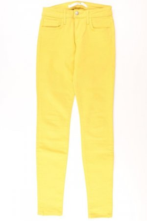 Five-Pocket-Hose Größe W24 gelb aus Baumwolle