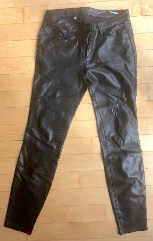 Five Pocket Hose in Lederoptik