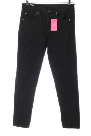 Five-Pocket Trousers black casual look