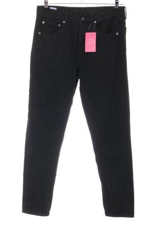 Pantalone cinque tasche nero stile casual