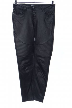 Five-Pocket Trousers black extravagant style