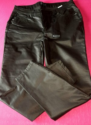 Laura Scott Pantalon cinq poches noir tissu mixte