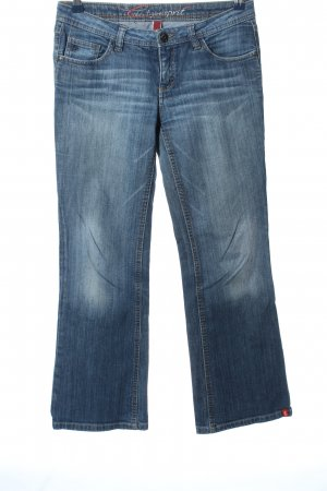 five Straight-Leg Jeans