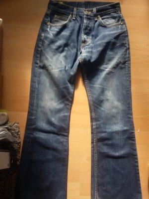 Lee Spodnie z pięcioma kieszeniami niebieski