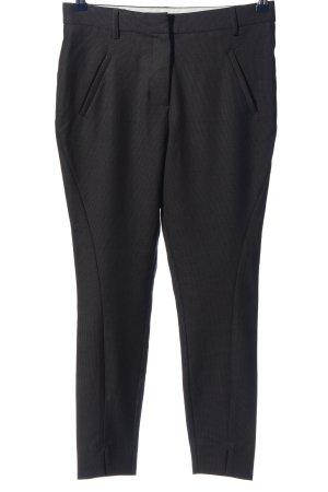 Fiveunits Pantalone da abito nero stile professionale