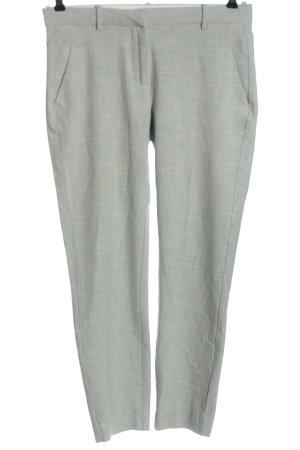 Fiveunits Pantalone da abito grigio chiaro motivo a righe stile casual