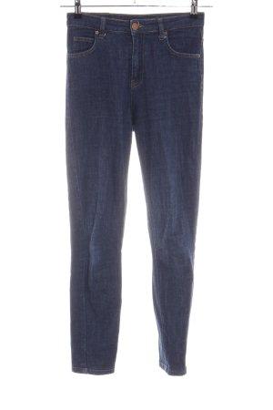 Fiveunits High Waist Jeans blau Casual-Look