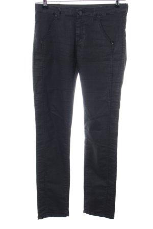 Fiveunits Slim Jeans schwarz Casual-Look