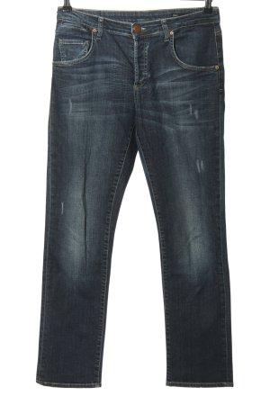 Fiveunits Straight-Leg Jeans blau Casual-Look