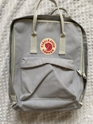 Fjällräven Laptop Backpack light grey-silver-colored