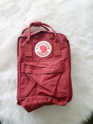 Fjällräven Kanken Mini Backpack dark red-bordeaux