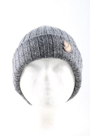 Fjällräven Sombrero de punto gris claro moteado look casual