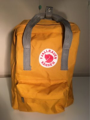 School Backpack light orange
