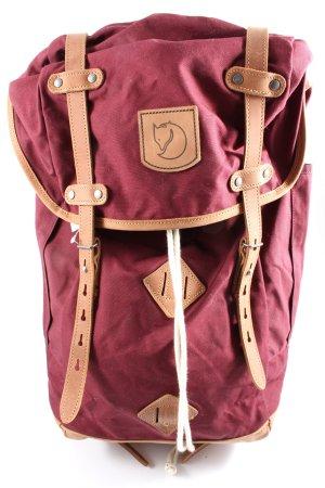 Fjallraven Trekking-Rucksack pink-braun Casual-Look