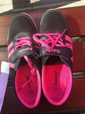 Patent Leather Ballerinas black-pink
