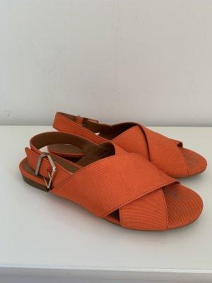 & other stories Roman Sandals orange