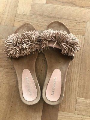 Flache Sandale von Lazamani